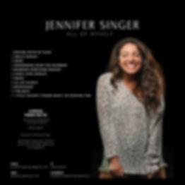 All By Myself - Jennifer Singer Back Cov