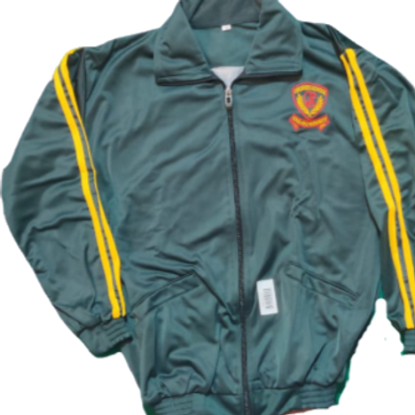 Orchid School winter track upper jacket