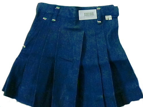 Gwalior Glory School (GGS) Skirt Denim Junior