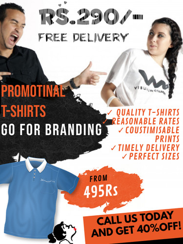 Copy of T shirts print shop business fly