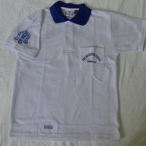 Woodstock School Blue Sports T Shirt