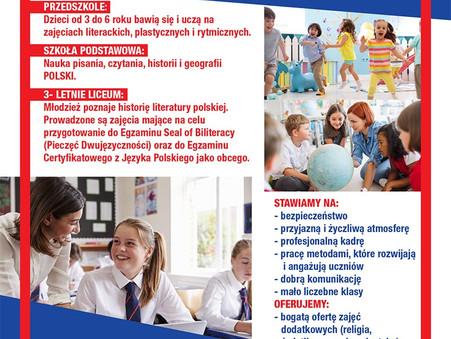 Zapisy szkolne 2021 / 2022