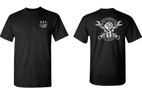 Street Glide United Skull Logo T-Shirt