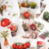 """""""fruits and vegetables"""" bilder aus meinen malkursen"""
