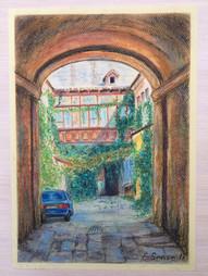 Courtyard in Odesa