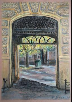 Courtyard of Odesa