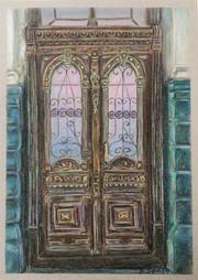 Old door inOdesa