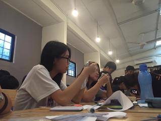 布の間 X 韓新傳播學院圖書館 Natural Cloth Pad Workshop@ HanXin College