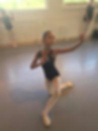 PSPA ballet class children newtown pa