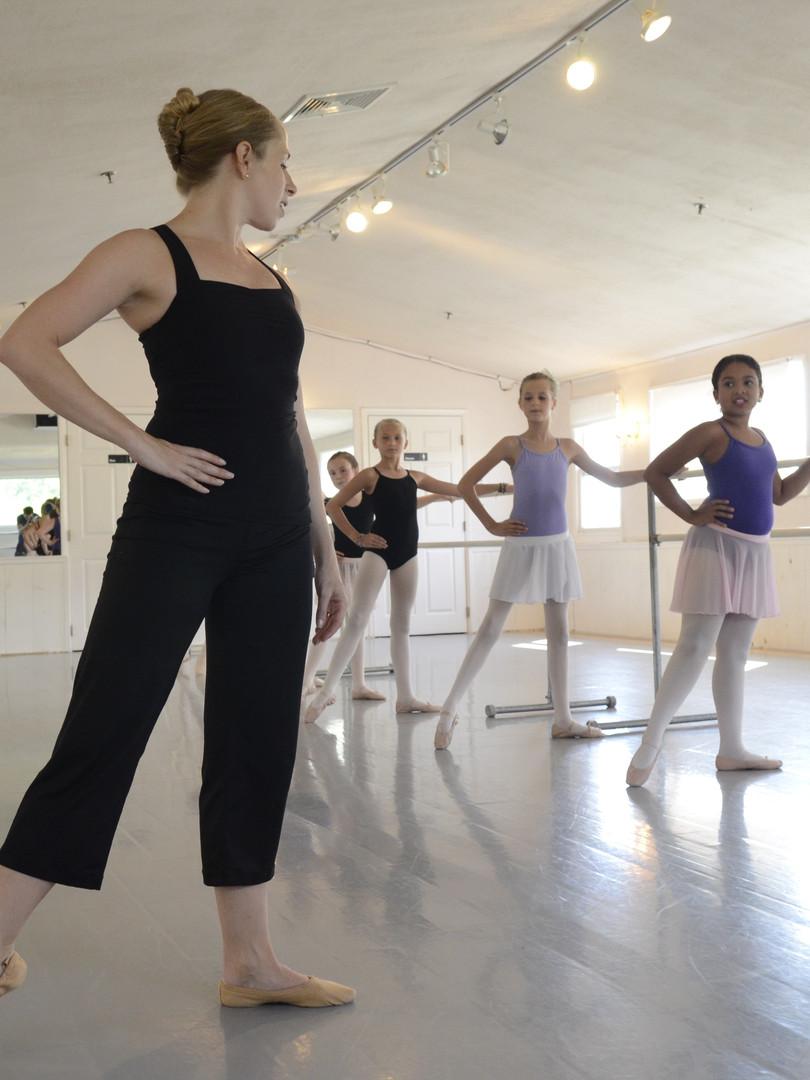 BALLET CLASS IN STUDIO A