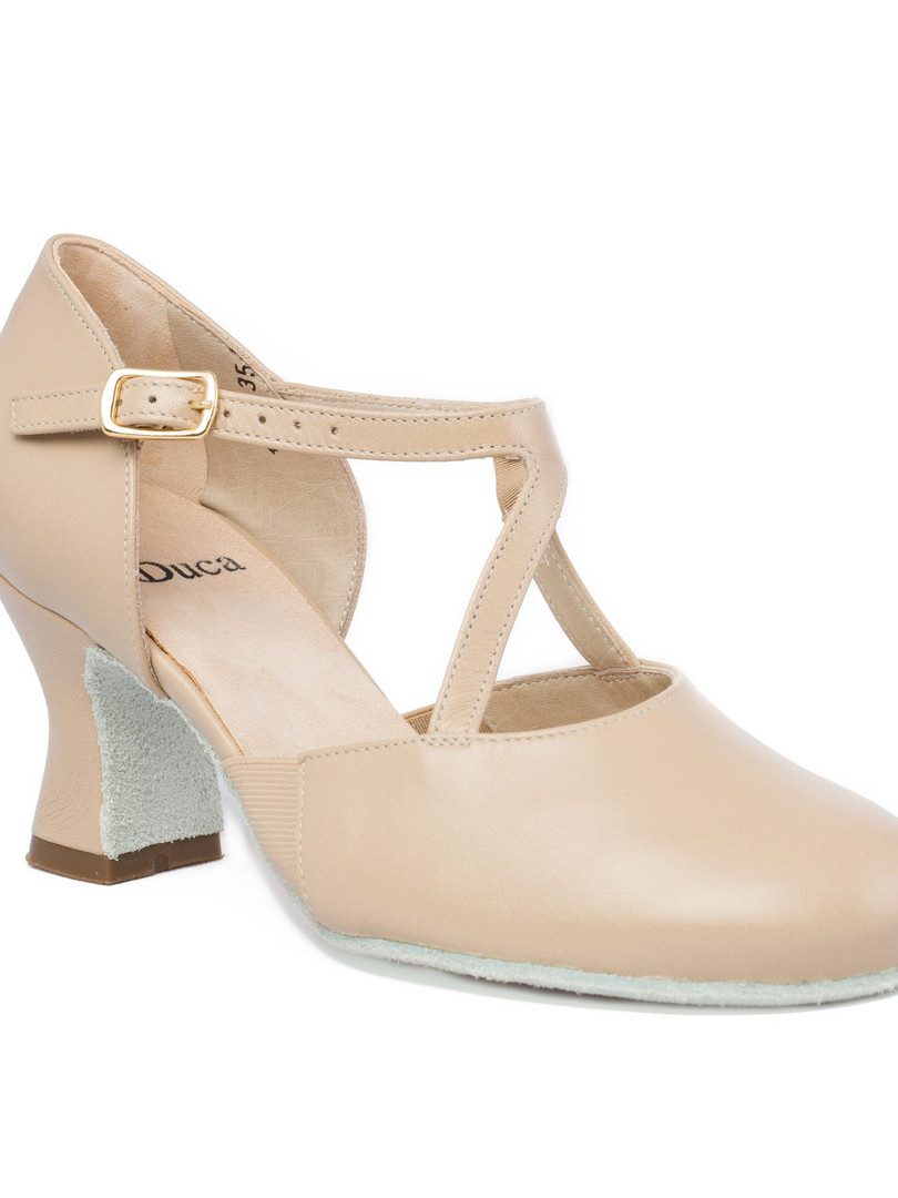 Tan Dance Heel
