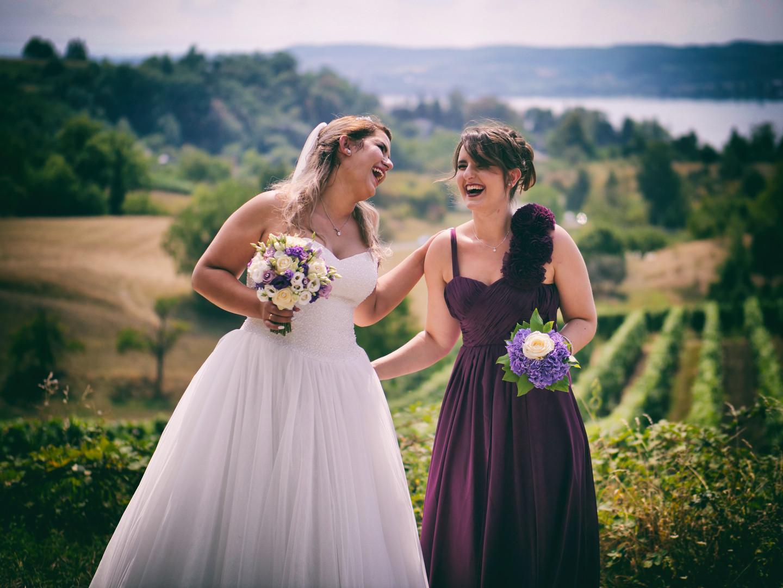 Braut & Schwester