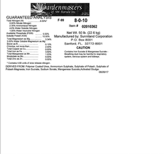 8-0-10  Fertilizer