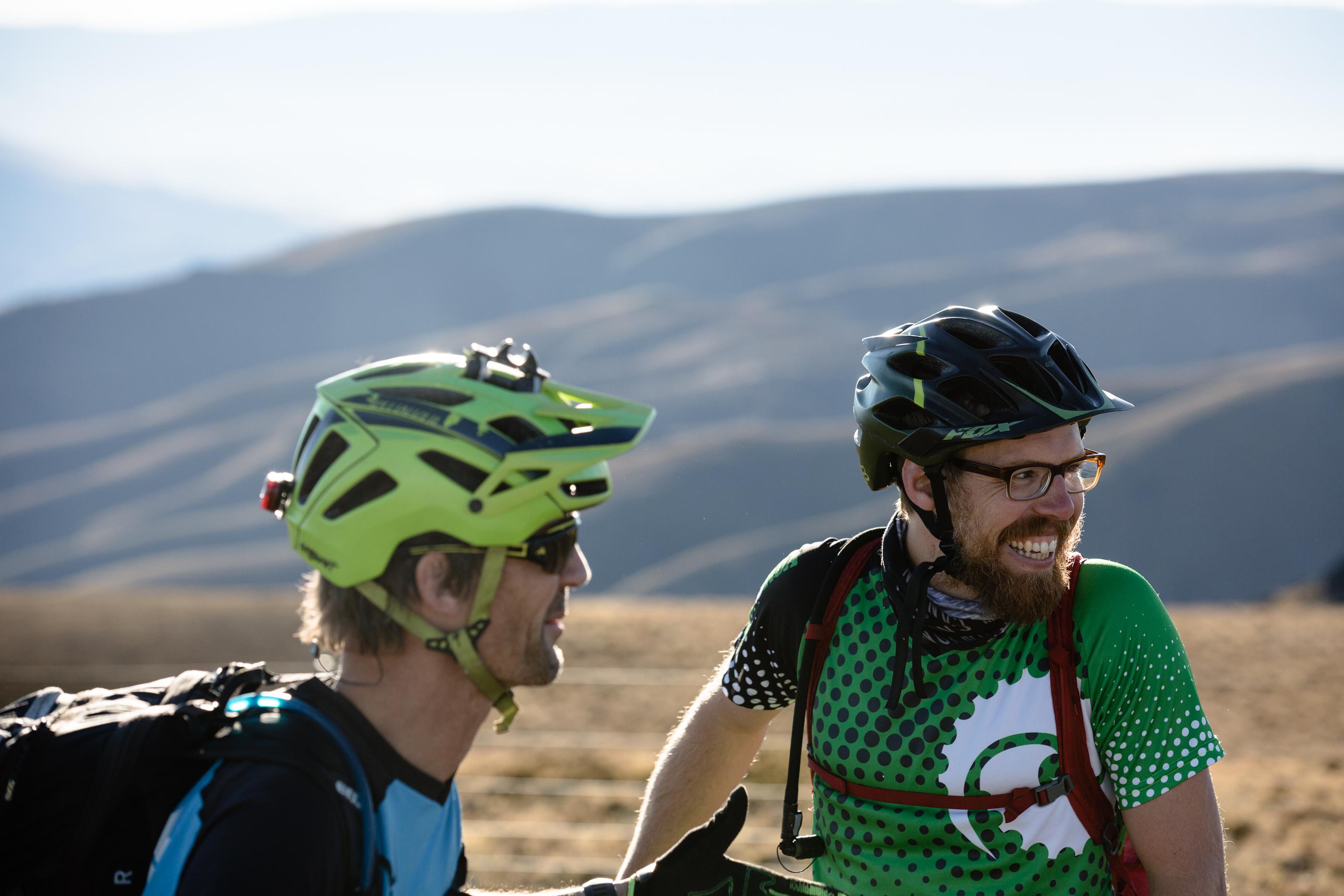 Stag do wanaka heli biking