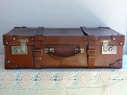 Vintage Suitcases - Brown