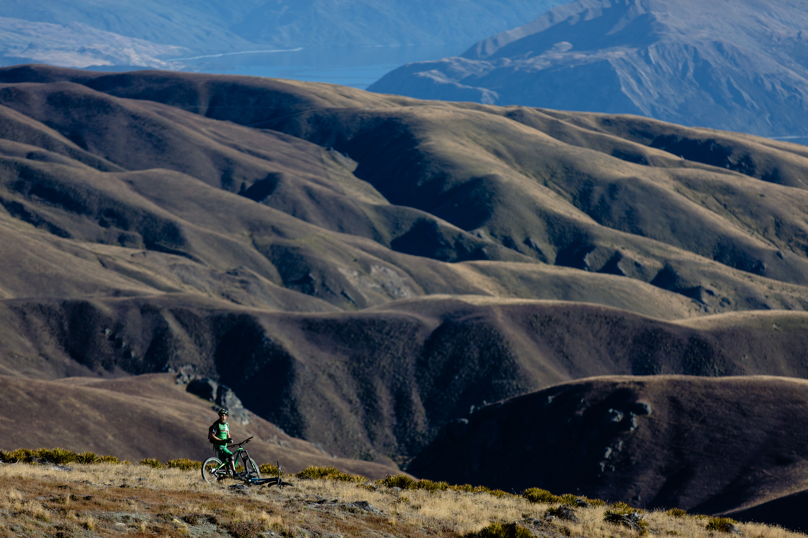 heli biking mountains wanaka nz