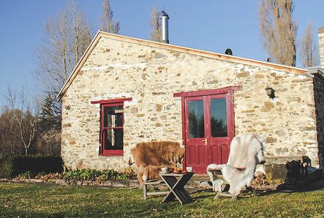 Al Fresco Breakfast Lombardy Cottage Central Otago Romance