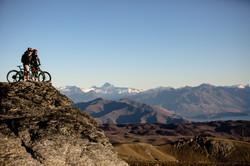 Heli Biking Wanaka View