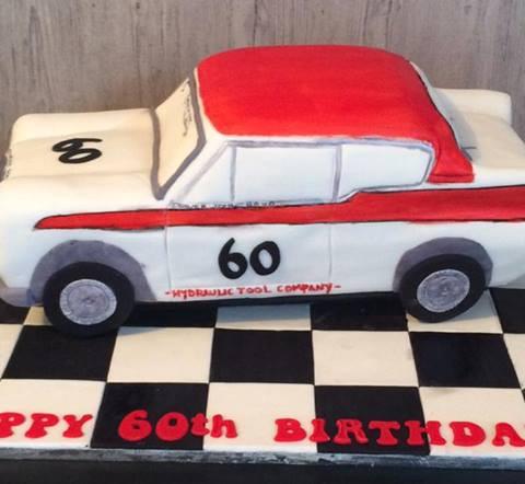 Specialty car cakes by Cakes by Kim, Central Otago  Vintage Car Cake Retro