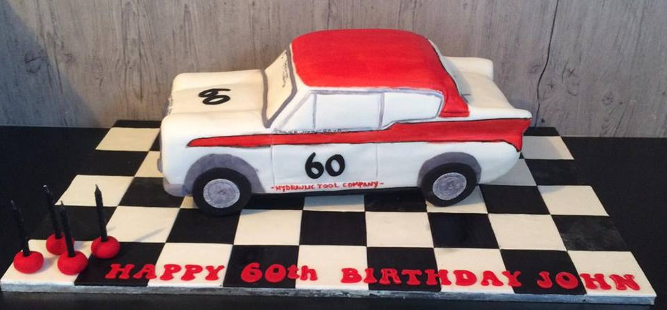 Specialty car cakes by Cakes by Kim, Central Otago  Vintage Car Cake Retro