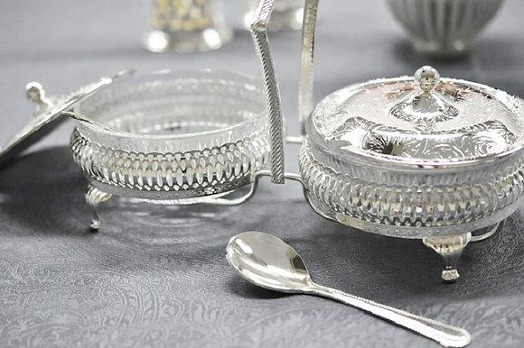 Jam Dish & Spoon