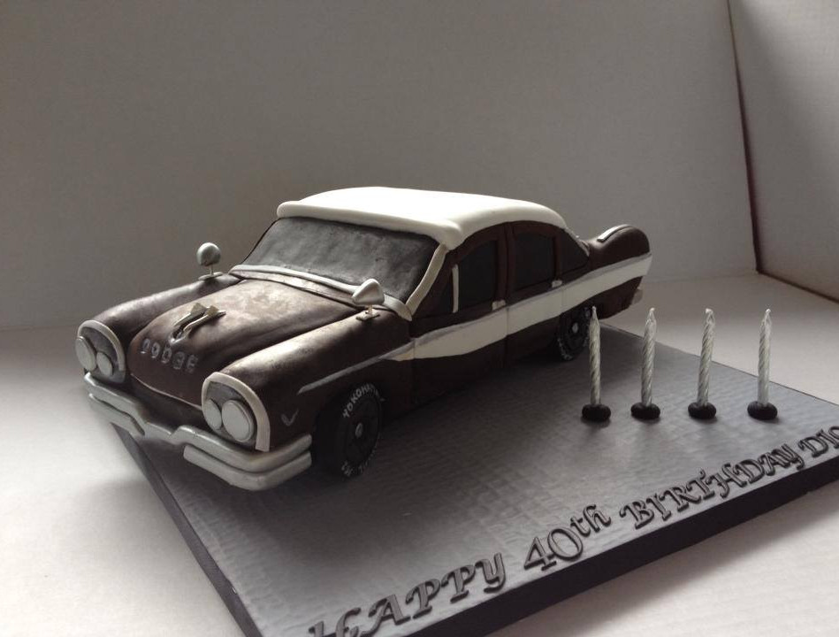 Specialty car cakes by Cakes by Kim, Central Otago  Vintage Dodge Cake