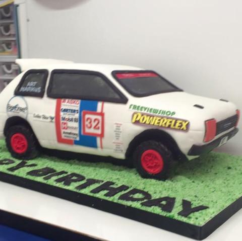 Specialty car cakes by Cakes by Kim, Central Otago  Race Car Cake