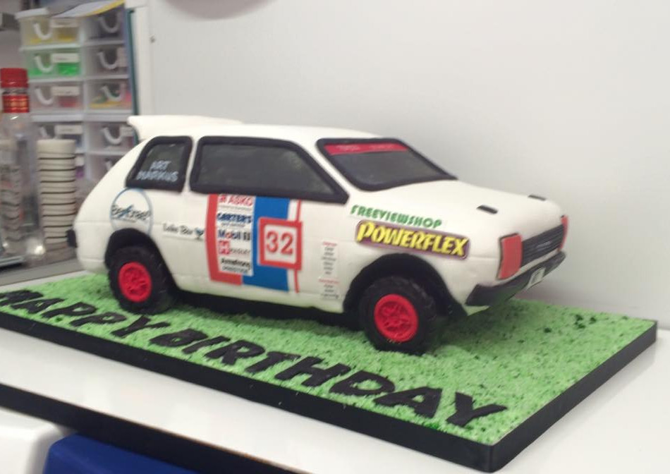 Specialty car cakes by Cakes by Kim, Central Otago  Race Car Cake