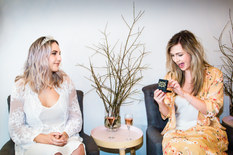 Bridesmaid gifts with Zoe & Morgan