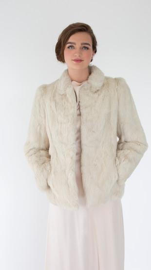 Cream Mink Coat