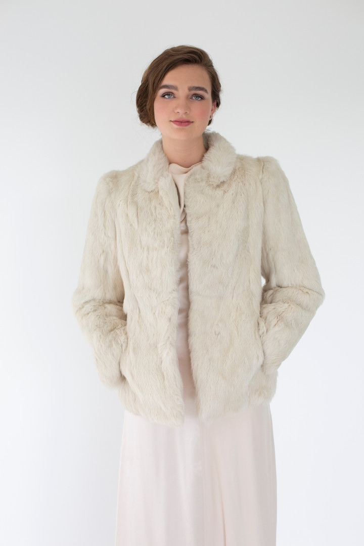 Cream Mink Coat