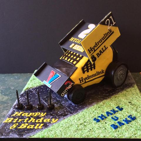 Specialty car cakes by Cakes by Kim, Central Otago  Stock Car Cake