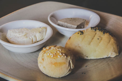 Smoked Butter and homemade bread rolls at Pitches Store Ophir Central Otago