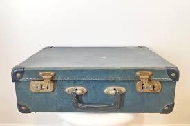 Vintage Suitcases - Blue