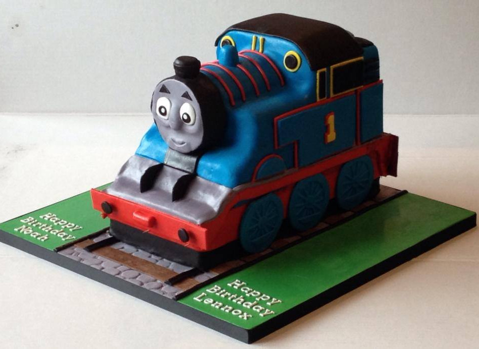 Specialty car cakes by Cakes by Kim, Central Otago  Thomas the Tank Engine Cake