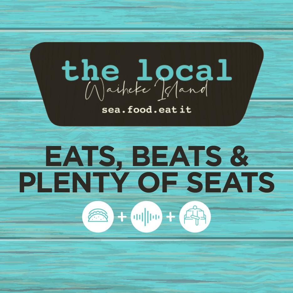 Eats, Beats & Plenty of Seats