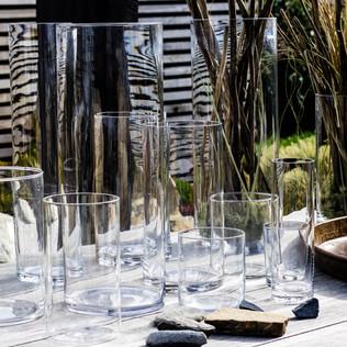 Varied Glass Vases