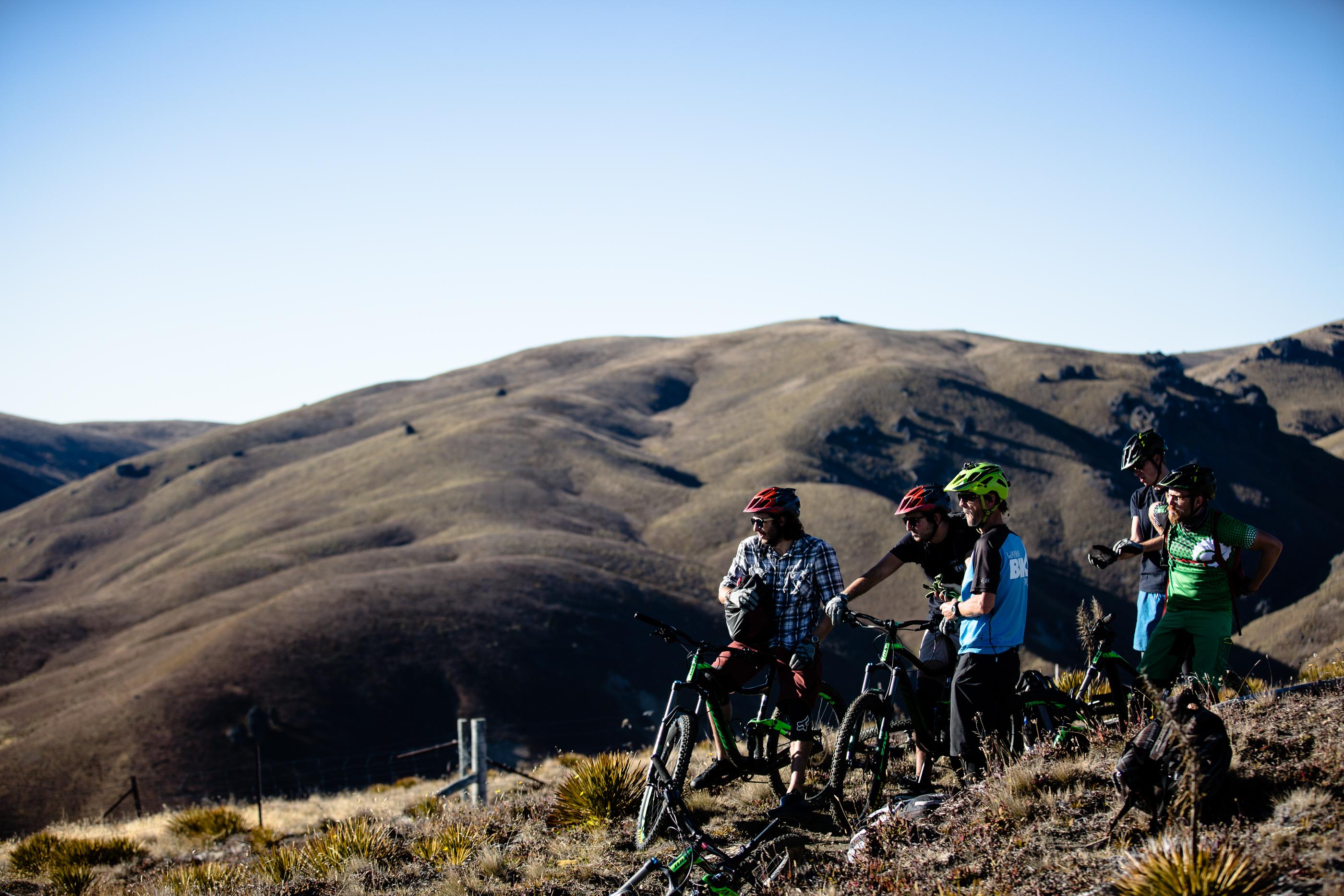 Heli bike stag do Wanaka New Zealand