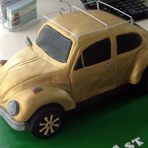Specialty car cakes by Cakes by Kim, Central Otago  VW Cake