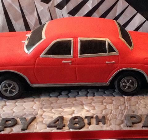 Specialty car cakes by Cakes by Kim, Central Otago  Retro Car Cake