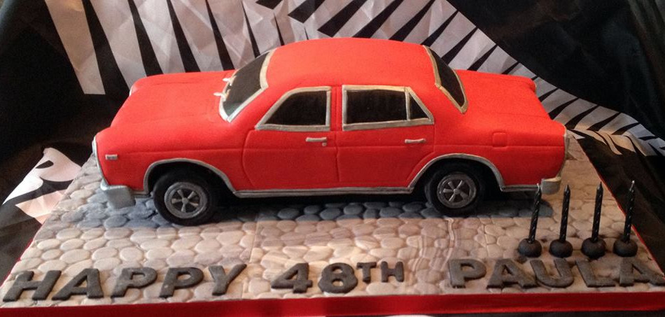 Specialty car cakes by Cakes by Kim, Central Otago  Retro Car Cake