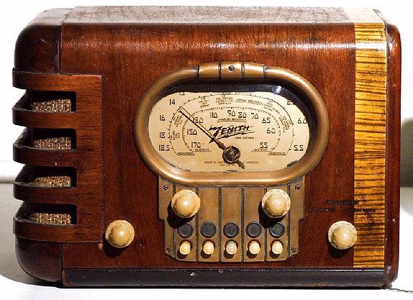 Large Vintage Radio