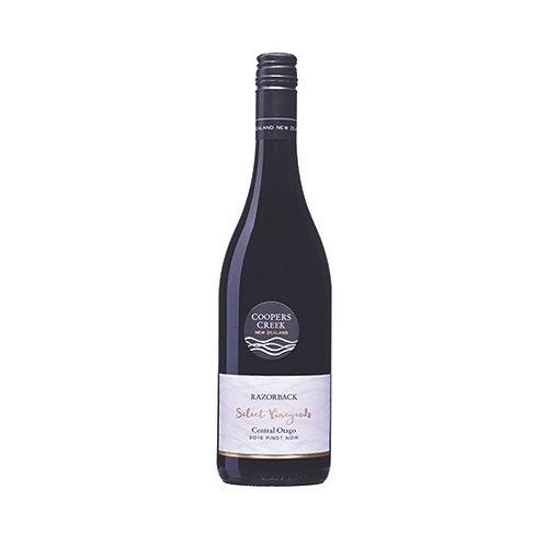 Coopers Creek Razorback SV Pinot Noir 2018