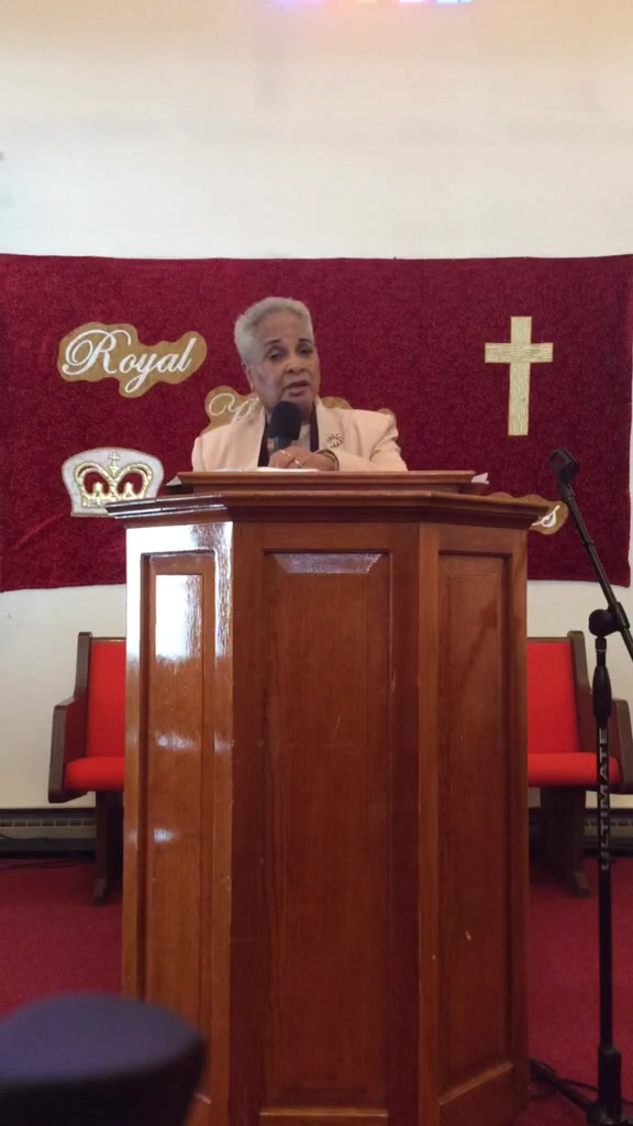 "Apostle Cereda Rispress ""Disappointments"" Jeremiah 29:10-12"
