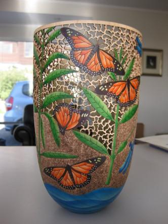 Pierced Butterfly Form