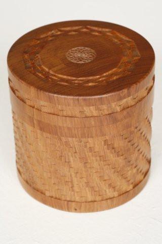 Ornamental Box with Basket Work