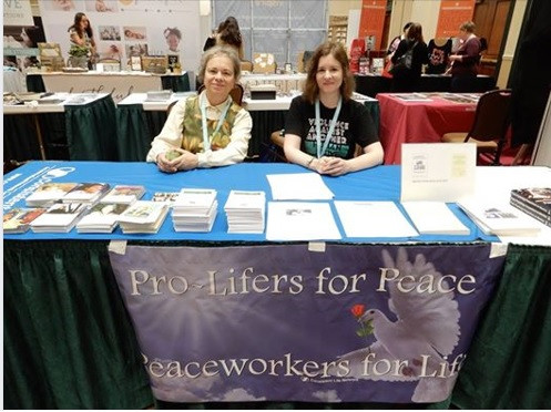 CLN table at Pro-life Women's Conference