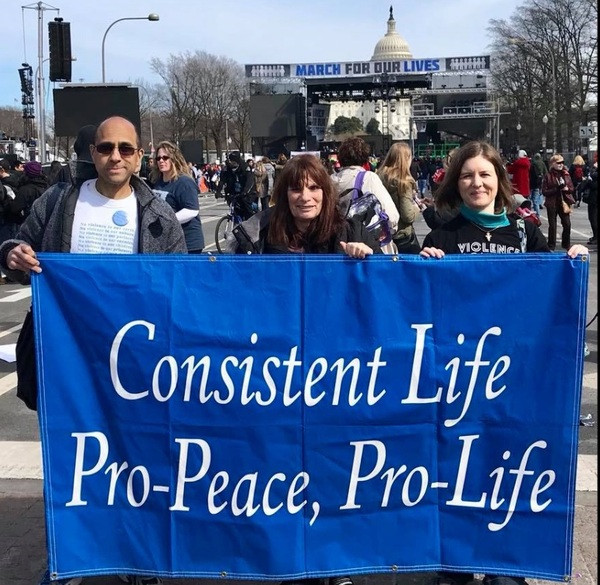CLN Banner at March for Our Lives