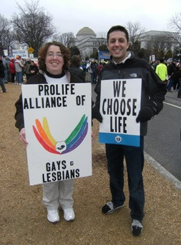 LGBT pro-life signs