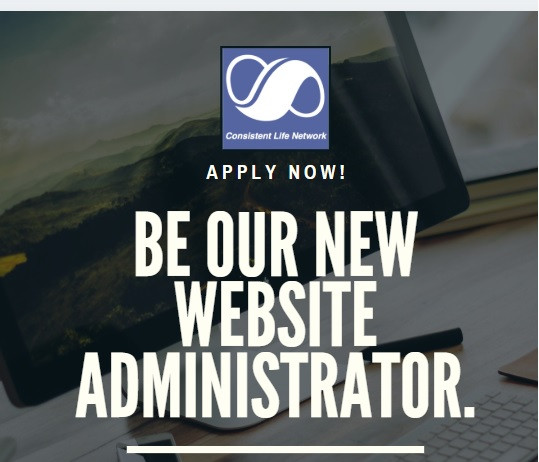 Be our new Website Administrator. Apply now.